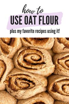 25 + Healthy and Delicious Oat Flour Recipes - rachLmansfield - 25 + Healthy and Delicious Oat Flour Recipes – rachLmansfield { You are in the right place f - Oat Flour Cookies, Oat Flour Muffins, Oatmeal Flour, Oat Pancakes, Oatmeal Cups, Baked Oatmeal, Oat Flour Recipes, Oats Recipes, Gf Recipes