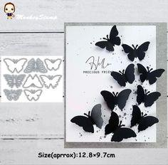 Scrapbooking Photo, Diy Scrapbook, Paper Cards, Diy Paper, Paper Butterflies, Butterfly, Album Photo, Sewing Crafts, Stencils