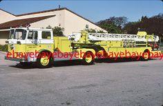 Fire Apparatus Slide, Truck 6, Santa Monica / CA, 1960 Seagrave