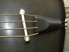 Corr Guitars acoustic bass tailpiece