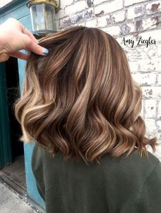Brunette Blonde Balayage and Lowlights by Amy Zieg . - Brunette Blonde Balayage and Lowlights by Amy Zieg … – Balayage Brunette To Blonde, Balayage Brunette Short, Brunette Highlights Lowlights, Brunette Bob, Subtle Highlights, Brown Hair With Highlights And Lowlights, Balayage Hair Bob, Short Brunette Hair, Short Hairstyles With Highlights