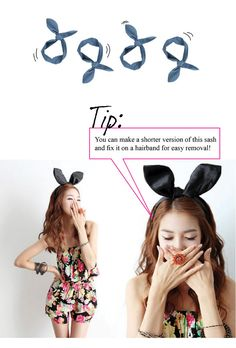 diy: bunny ears « THE YESSTYLIST – Asian Fashion Blog – brought to you by YesStyle.com