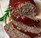Low Sodium Meatloaf With Lean Ground Beef, Panko Breadcrumbs, No Salt Added Ketchup, Fresh Oregano, Low Sodium Meatloaf Recipe, Healthy Meatloaf, Meatloaf Recipes, Homemade Meatloaf, Burger Recipes, Sodium Free Recipes, Salt Free Recipes, No Sodium Foods, Low Sodium Diet