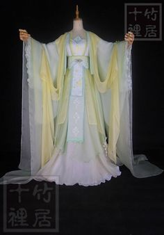 Dương Sở Ngọc Traditional Fashion, Traditional Dresses, Orientation Outfit, Fantasy Gowns, Chinese Clothing, Cosplay Outfits, Hanfu, Modest Dresses, Asian Fashion