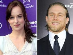 Dakota Johnson and Charlie Hunnam Ana and Christian cast