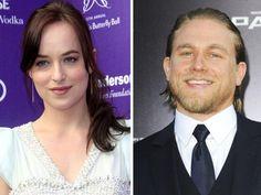 Dakota Johnson and Charlie Hunnam Ana and Christian cast