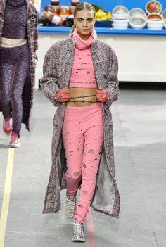 British Supermodel Cara Delevingne for chanel autum
