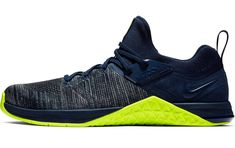 ef8bb4dc6a2cb5 CrossFit Shoes · Nike Metcon Flyknit 3 Mens cross training shoe - shown  here in Obsidian Volt colorway -