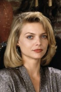 "Michelle Pfeiffer in the movie ""Tequila Sunrise""."