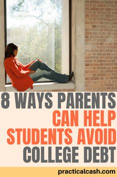 Parents can help college students avoid student loans - 8 strategies for minimizing college debt College Savings Plans, College Costs, Saving For College, Online College, Education College, Apply For Student Loans, Student Loan Payment, Paying Off Student Loans, Loans For Bad Credit