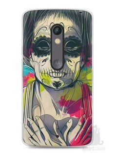 Capa Capinha Moto X Play Caveira Pintura - SmartCases - Acessórios para celulares e tablets :)