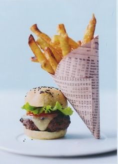 Burgers the size of quarters by Peter Callahan in Bite By Bite cookbook.