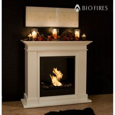Roma II Bio Fireplace - Bio Fires (Gel Fireplaces Ltd.)
