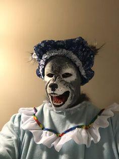 Werewolf Sculpted Latex Feet Shoe Covers Halloween Dress Up Distortions