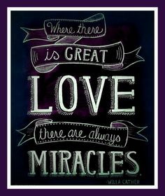 Where there is love.....