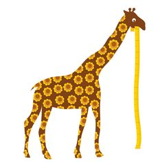 Wall sticker Wall Stickers Giraffe, Kitsch, Height Chart, Kids Room, Outdoor Decor, Fabric, Animals, Giraffes, Vinyls