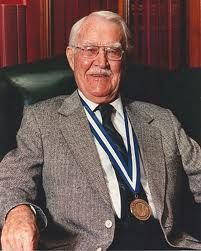 Victor Mills (1897-1997) Milford, Nebraska. Chemical engineer, inventor of the disposable diaper!