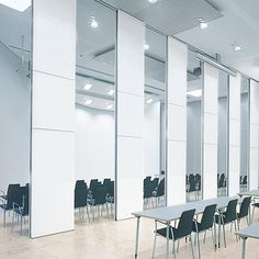 Floor to Ceiling Acoustic Movable Bamboo Sound Proofing Partition Walls for Function Room