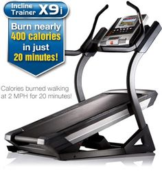 $1999 Love this treadmill. -6 to 40 % incline. iFit live and 44 work programs
