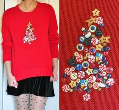 Yet another easy DIY Christmas Sweater