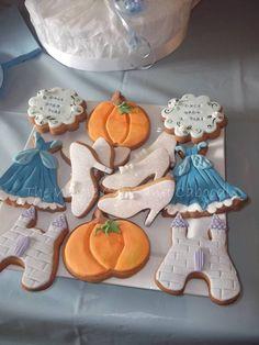 Cinderella cookies!