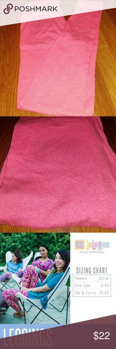 LuLaRoe Leggings OS *SOLID PINK* Brand new, never worn LuLaRoe leggings. Solid pink!! One size. Bundle for even better savings! 💕 *I consider all reasonable offers! * LuLaRoe Pants Leggings