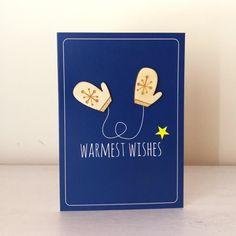 Wooden Mittens - Warmest Wishes - Alljoy