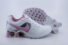 cheaper 3ccb1 91a13 The products detail of Nike Shox womens white pink shoes.cheap nike shox  shoes sale and shop it now.