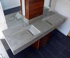 Exceptionnel Resultados Da Pesquisa De Imagens Do Google Para Http://www.concrete  · Concrete  Sink BathroomDouble ...