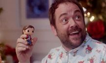 Crowley with his Sam doll ❤️ ||| The Devil In The Details 11x10