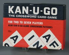 Kan-U-Go: Crosswords but cards.
