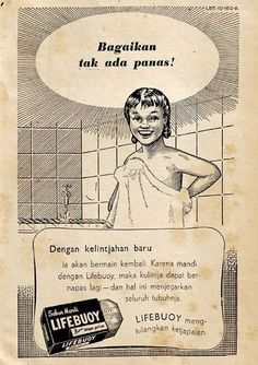 Illustrations Discover 28 Old Indonesian Ads You Never Thought You Would See Again Vintage Advertising Posters, Old Advertisements, Vintage Posters, Vintage Humor, Vintage Ads, Soekarno Quotes, Soap Advertisement, Lifebuoy, Old Commercials