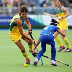 Anna Flanagan in action - the Coommonwealth Games, 2014. Hockeyroos . We Love Field Hockey ❤️