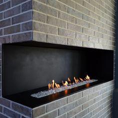 Contemporary slab stone fireplace calacutta carrara for European homes fireplaces