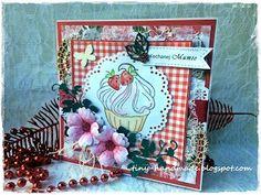 Dla mamusi Handmade Birthday Cards, Handmade Cards, Frame, Decor, Craft Cards, Picture Frame, Decoration, Diy Birthday Cards, Decorating