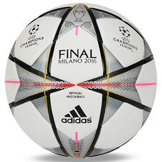 Adidas UEFA Finale Milano 2016 OMB Official Match Ball Soccer AC5487 Size 5 | Sporting Goods, Team Sports, Soccer | eBay!