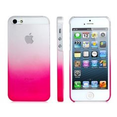 Pink to White Gradient iPhone 5 Case