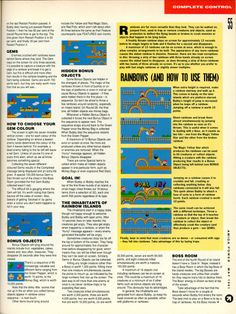 Amiga Power Rainbow Islands guide Page 2