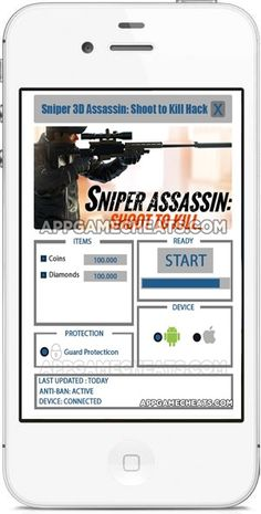 While Sniper 3D Assassin Hack 2016 ANDROID and iOS Cheats Online No Survey is an awesome amusement to play, it obliges you to have a great…