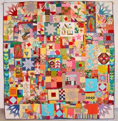 Bumble Beans Inc. - Original & Custom Quilts - Quilts - Scrappy Quilts How to use your left over blocks and make it modern!
