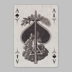 Ace Of Spades, Tarot, Playing Cards, Poker, Movie Posters, Collection, Tattoos, Polyvore, Tatuajes
