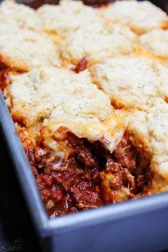 http://www.adashofsanity.com/2015/10/chili-cheese-biscuit-bake/