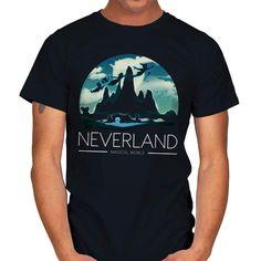 MAGICAL WORLD T-Shirt - Peter Pan T-Shirt at RIPT! $7 off with code: CHOICE! Peter Pan, Large Black, World, Sleeves, Mens Tops, T Shirt, Label, Neckline, Disney