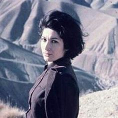 Forough Farrokhzad as photographed by Ebrahim Golestan. Democracy And Human Rights, Female Poets, Persian Beauties, Iranian Art, Vector Portrait, Film Director, Vintage Photographs, Scenery, History