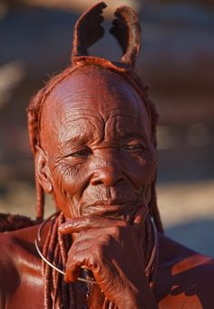 Africa | Himba woman, Namibia