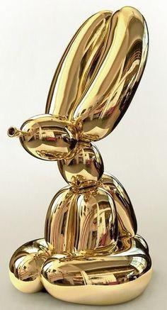 Golden Rabbit by Jeff Koons