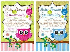 Invitaciones De Buho Para Baby Shower | Como Hacer Invitaciones De Buho .