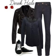 Teen Wolf Inspired - Derek Hale #2, created by moosegodstiel on Polyvore