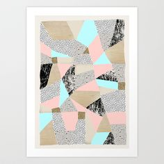 Buy Geo Lights by Lou&theTwin as a high quality Art Print. Worldwide shipping available at Society6.com. Just one of millions of products available.