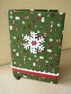 Christmas notebook for little girl.